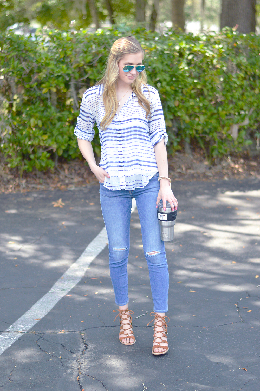 styelled blog, elle elisabeth, bella dahl, the lost society, ray ban, tie dye, 7 for all mankind, 7 jeans, summer style, summer trends, style blogger, fashion blogger, dolce vita - 3