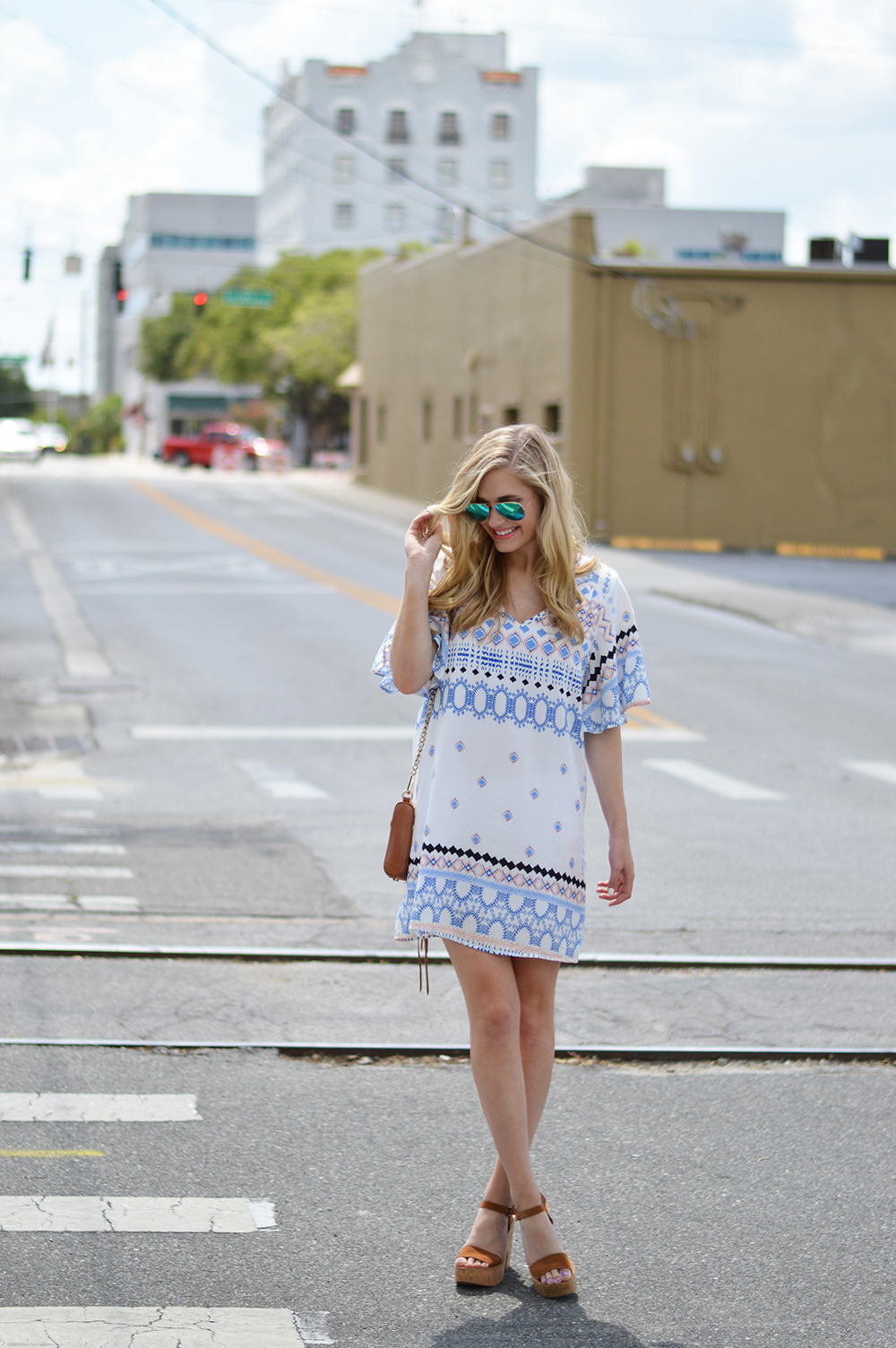 styelled blog, glam, glam clothing, summer style, summer wear, sundress, sun dress, white dress, summer print, rebecca minkoff, dolce vita, bell sleeve, fashion blogger, fblogger, style blogger, 02