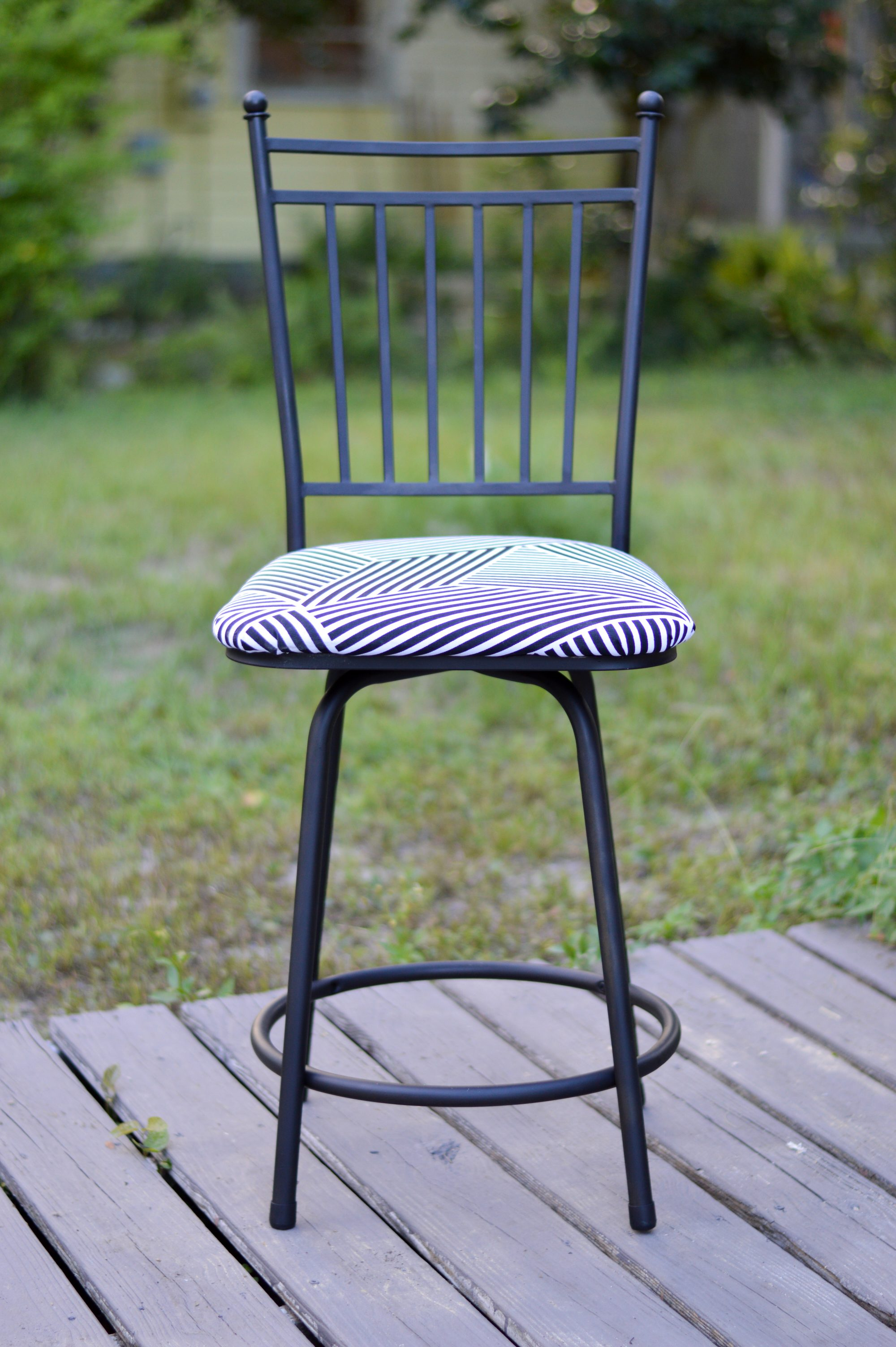 Diy Turn Your Barstools From Drab To Fab Styelled