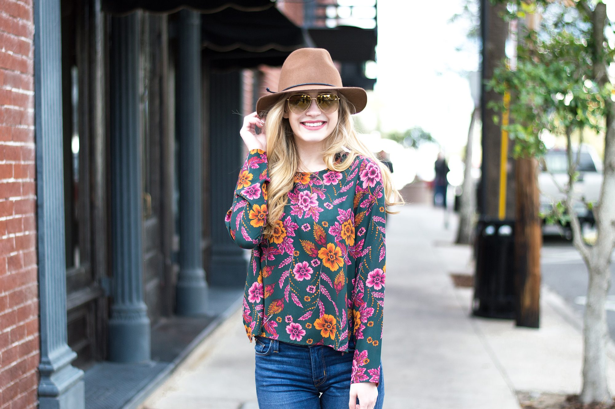 styelled-blog-fashion-lifestyle-brick-city-closet-hudson-jeans-denim-fblogger-style-blogger-ootd-outfit-burberry-central-florida-hats-fedora-floral-fall-01