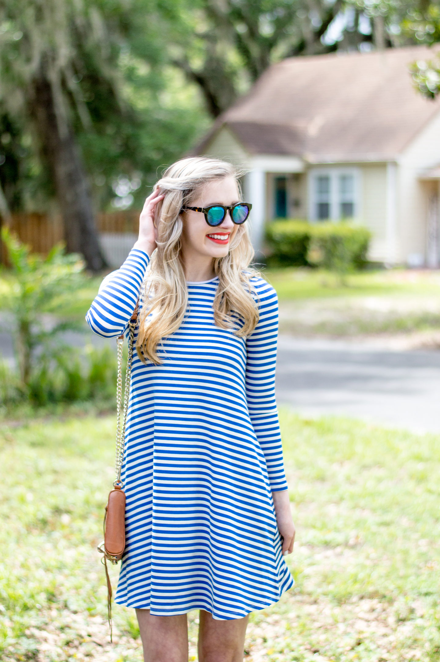 Blue Summer Stripes for Memorial Day Weekend