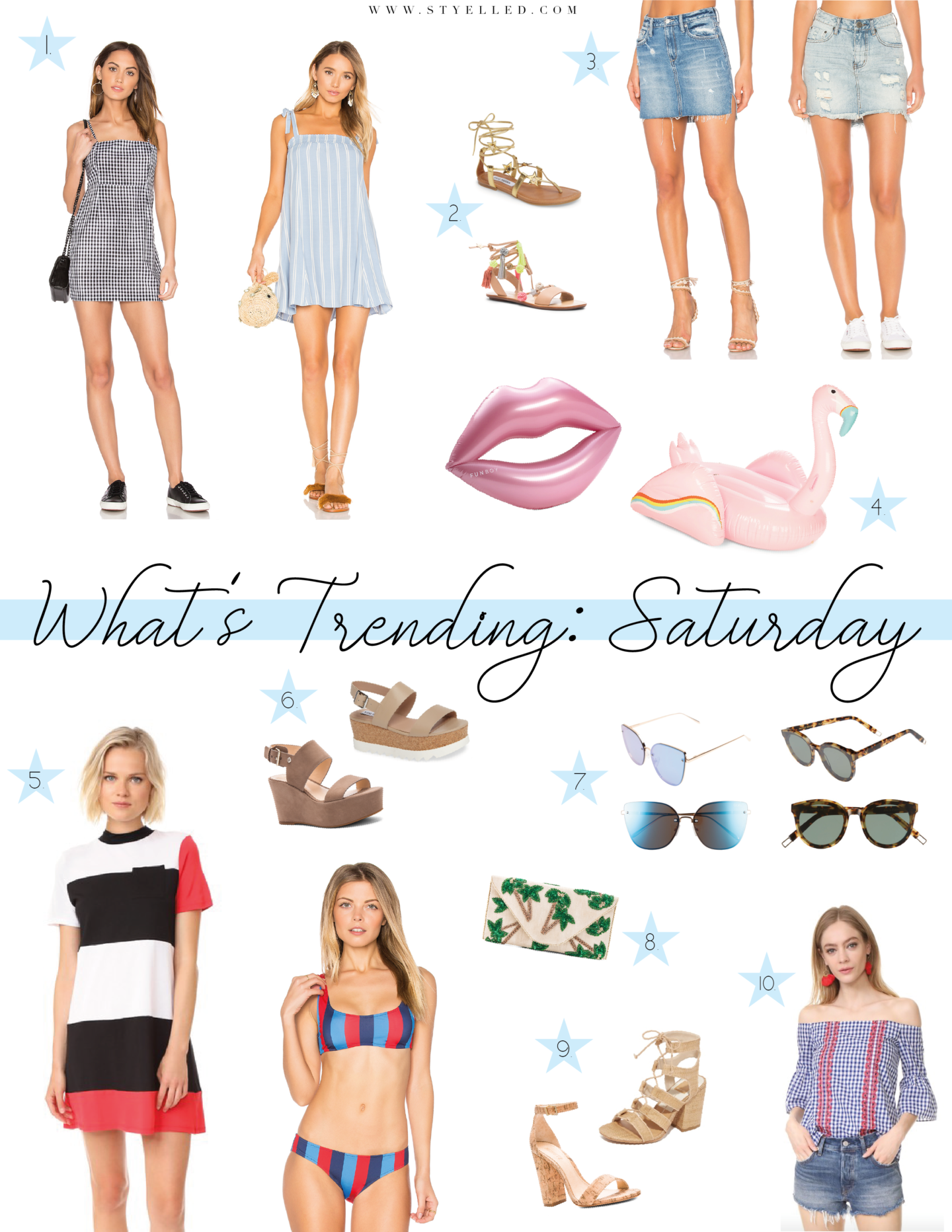 What's Trending: Saturday Fashion Finds